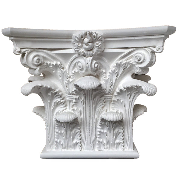 Corinthian Order (Roman) - Pantheon - PILASTER CAP - [Plaster Material] - Brockwell Incorporated