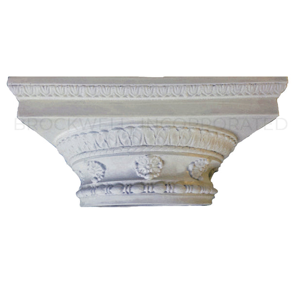 Decorative Roman Doric Renaissance Cast Resin Column Capital