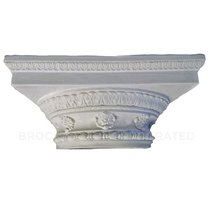 Decorative Column Capital - Roman Doric - Plaster Material - Brockwell Incorporated