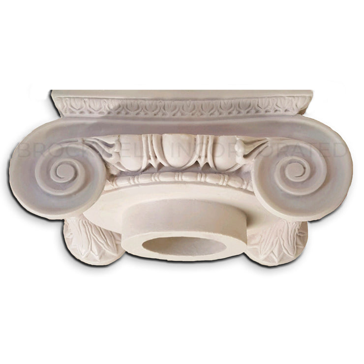 Roman Ionic Cast Resin Exterior Column Capital