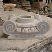 Ionic Order (Roman) - Roman Ionic - ROUND Column Capital - [Plaster Material] - Brockwell Incorporated