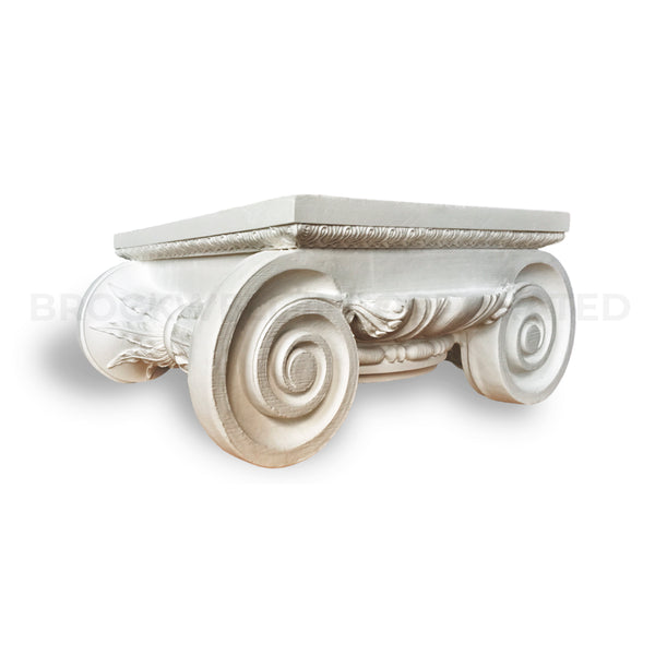 Buy Roman Ionic Plaster Round Decorative Column Capitals