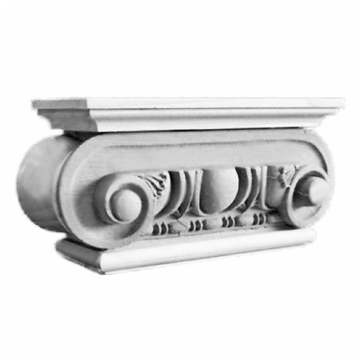 Ionic Order (Roman) - Rome - PILASTER CAP - [Plaster Material] - Brockwell Incorporated