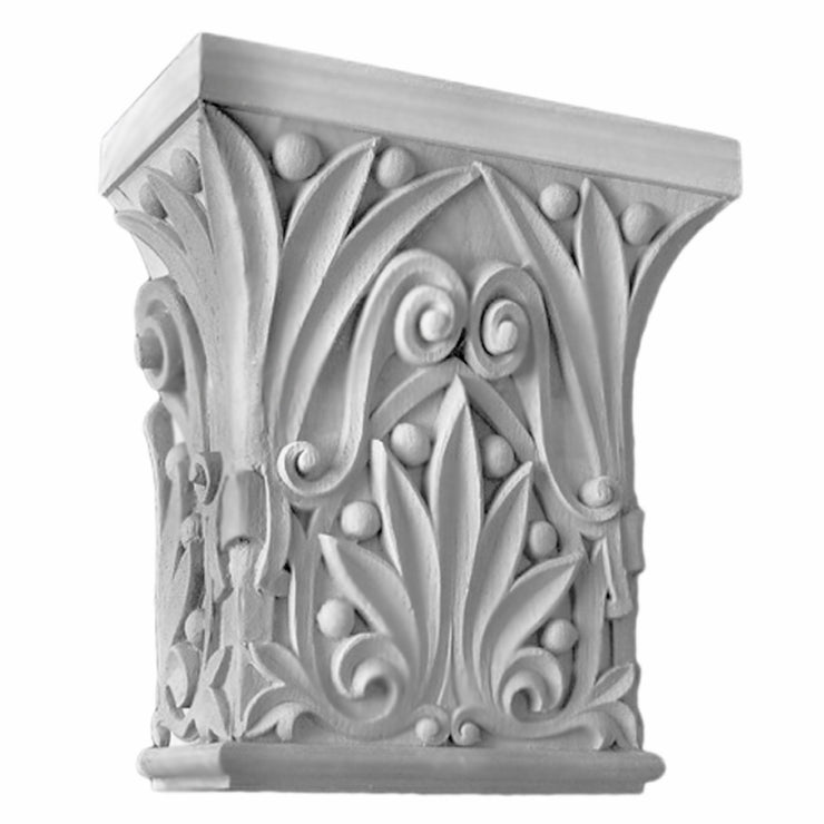 Specialty Capital (Romanesque) - PILASTER CAP - [Plaster Material] - Brockwell Incorporated