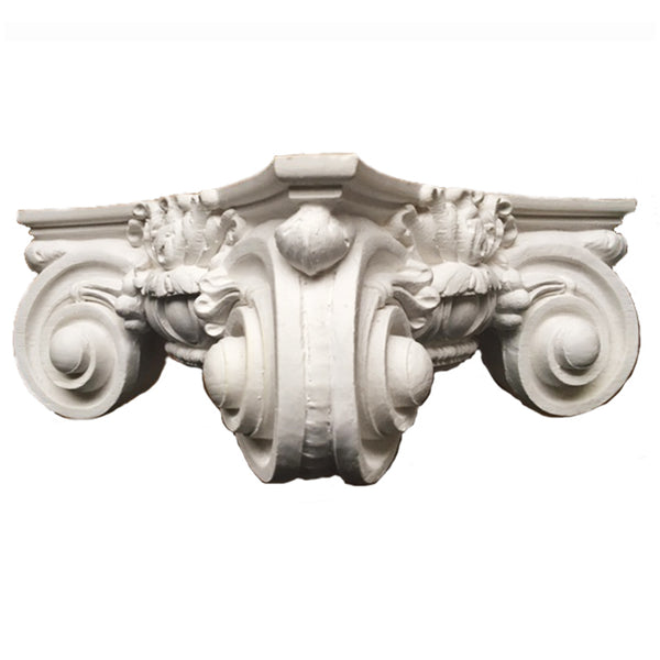 Ionic Order (Roman) - Scamozzi - ROUND Capital - [Plaster Material] - Brockwell Incorporated