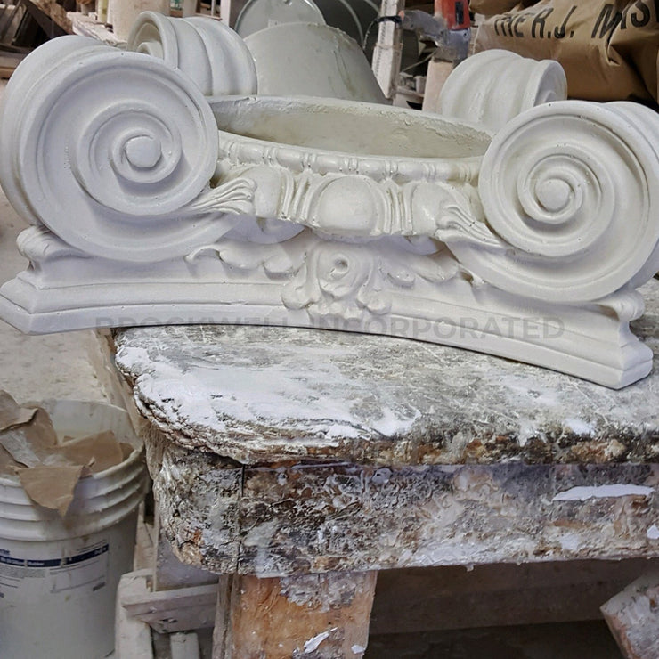 Interior decorative plaster Scamozzi column capital