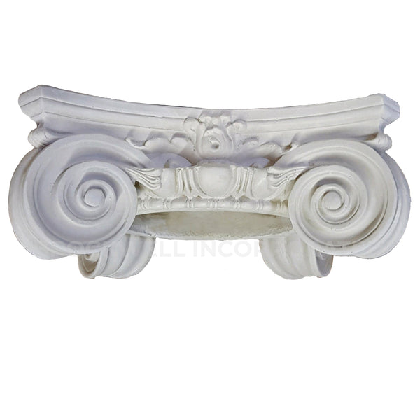 Round Scamozzi Column Capital Design Made from Plaster - Brockwell Incorporated
