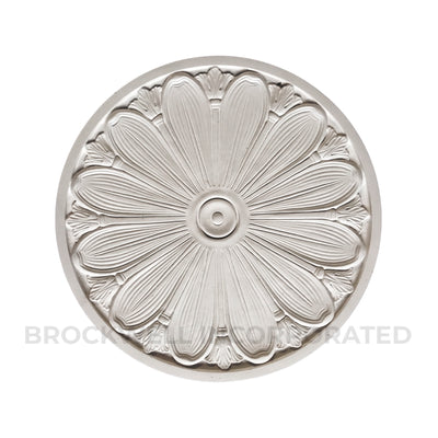Purchase the nicest Colonial style plaster ceiling medallions online from Brockwell Incorporated