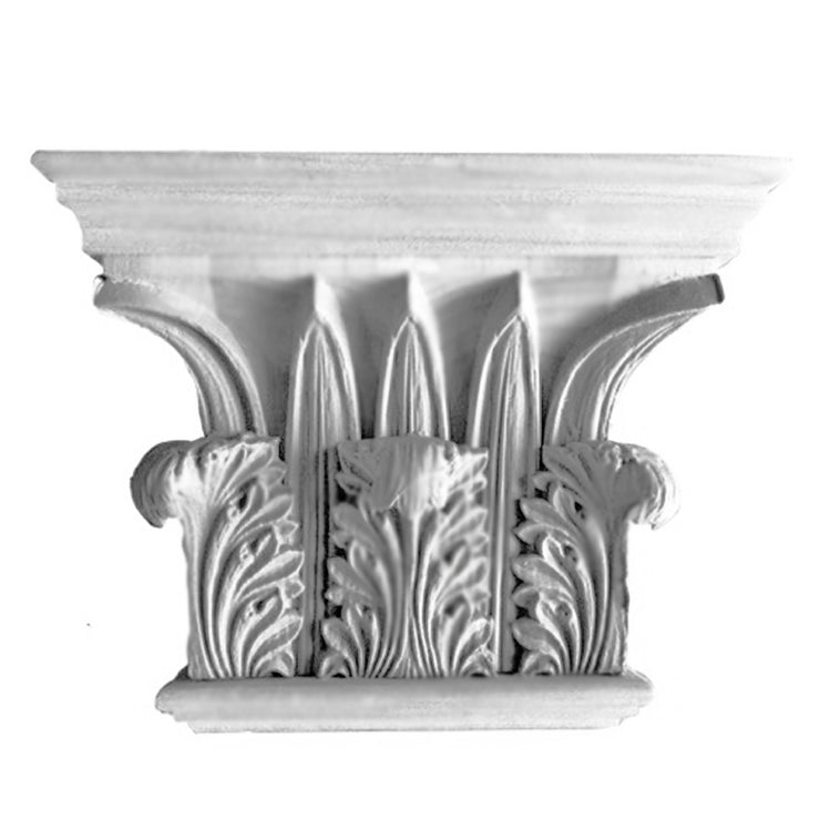 "Corinthian Order (Greek) - ""Tower of the Winds"" - PILASTER CAP - [Plaster Material] - Brockwell Incorporated"