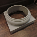 Beautiful Exterior Tuscan Fiberglass Column Base Moldings & Plinths - ColumnsDirect.com