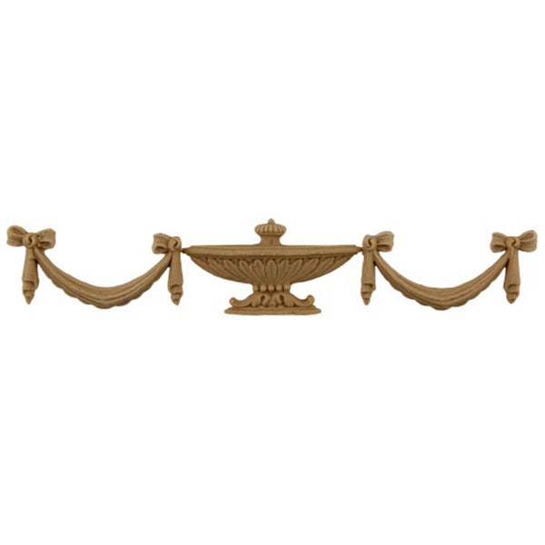 Urn Resin Appliques for Wood Fireplace Mantels - URN-F949-CP-2 - Buy Online at ColumnsDirect.com