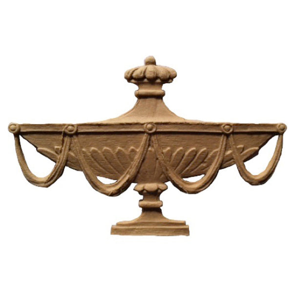 Urn Resin Appliques for Wood Fireplace Mantels - URN-F9541-CP-2 - Buy Online at ColumnsDirect.com