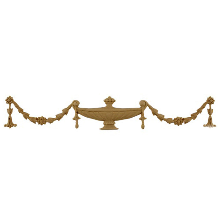 Urn Resin Appliques for Wood Fireplace Mantels - URN-F9391-CP-2 - Buy Online at ColumnsDirect.com