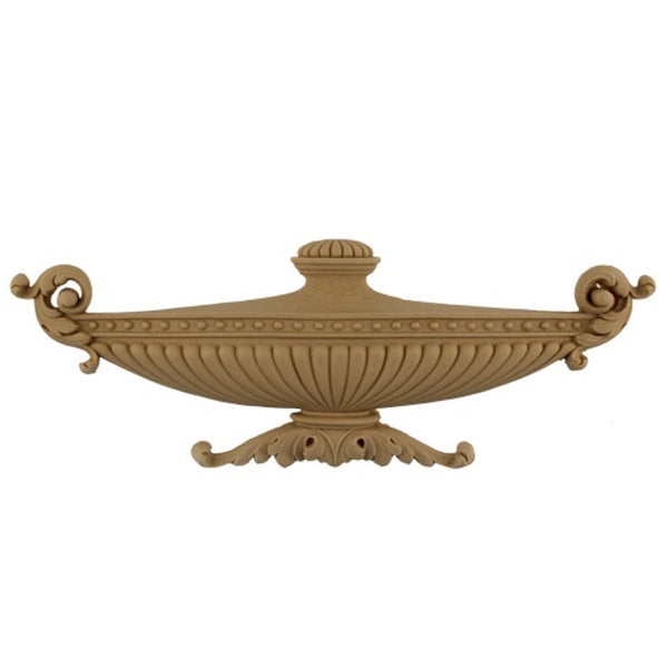 Urn Resin Appliques for Wood Fireplace Mantels - URN-F551-CP-2 - Buy Online at ColumnsDirect.com