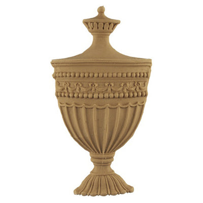 Urn Resin Appliques for Wood Fireplace Mantels - URN-0475-CP-2 - Buy Online at ColumnsDirect.com