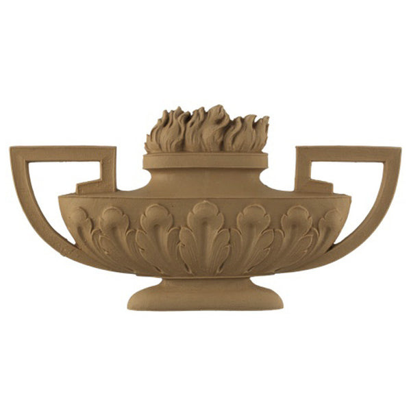 Urn Resin Appliques for Wood Fireplace Mantels - URN-22611-CP-2 - Buy Online at ColumnsDirect.com
