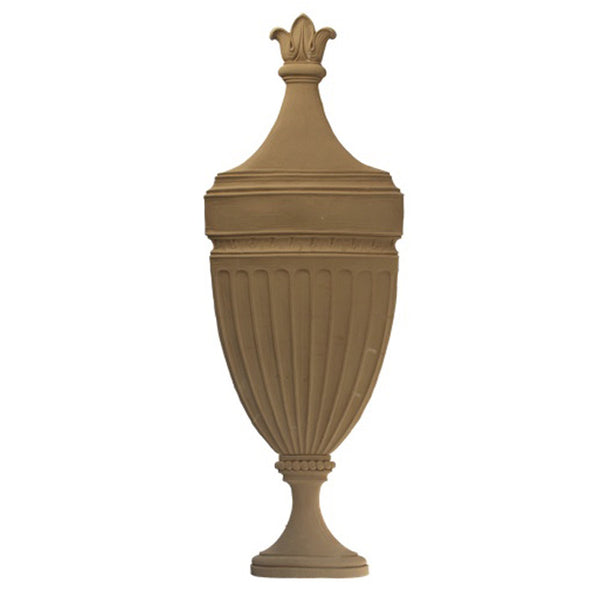 Urn Resin Appliques for Wood Fireplace Mantels - URN-82611-CP-2 - Buy Online at ColumnsDirect.com