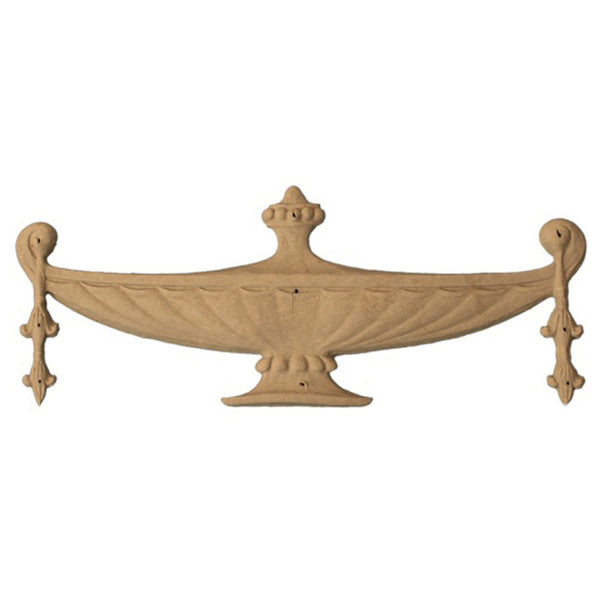 Urn Resin Appliques for Wood Fireplace Mantels - URN-19131-CP-2 - Buy Online at ColumnsDirect.com