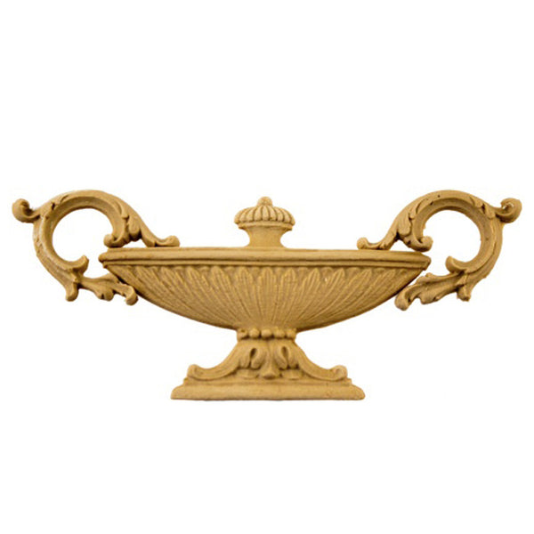 Urn Resin Appliques for Wood Fireplace Mantels - URN-F509-CP-2 - Buy Online at ColumnsDirect.com