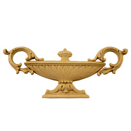 Urn Resin Appliques for Wood Fireplace Mantels - URN-F609-CP-2 - Buy Online at ColumnsDirect.com