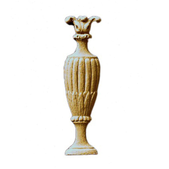 Urn Resin Appliques for Wood Fireplace Mantels - URN-F819-CP-2 - Buy Online at ColumnsDirect.com
