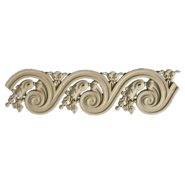 "4""(H) x 1/4""(Relief) - Louis XVI Style Vitruvian Wave Molding Design - [Compo Material]-Brockwell Incorporated"