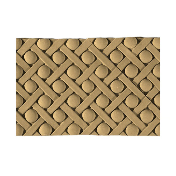 Resin Weave Moldings for Wood Cabinetry - Buy Online - Brockwell Incorporated - MLD-7538-CP-2