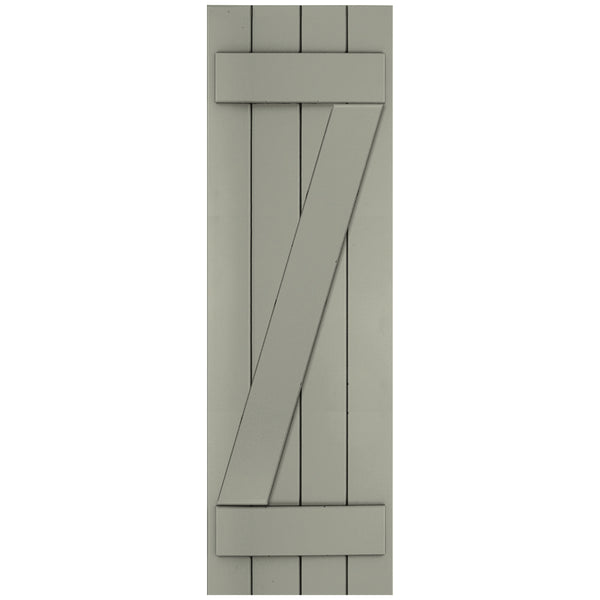Z-Bar Board-n-Batten Shutters - [Classic Collection] - Brockwell Incorporated