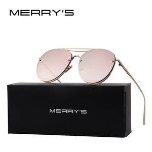 MERRY'S New Arrival Women Classic Brand Rimless Sunglasses