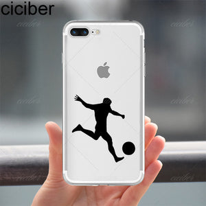 Soccer Apple Case