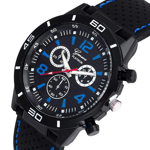 Silicone Analog Quartz Wrist Watch
