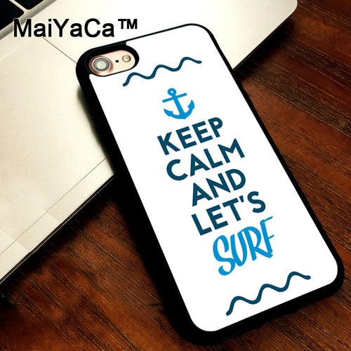 Keep Calm and Surf Case