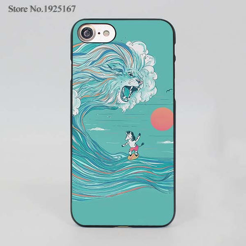 Lion Wave Case