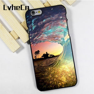 Wave in Sunset case