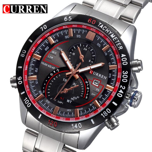 CURREN Stainless steel Mens Watch