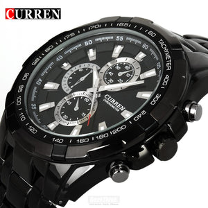 Curren Steel Mens Watch Casual