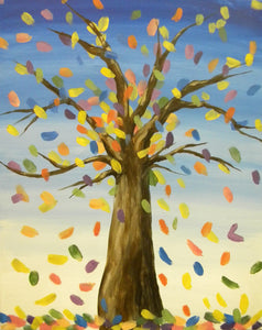 "Copy of Brush & Brunch!  ""Colorful Tree""   2:00 pm Sunday, October 07, 2018"