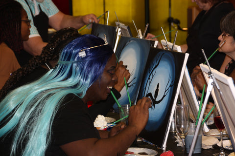Book a Private Party ANY DAY Call William YOU CHOOSE THE PAINTING Paint & Sip Party BYOB