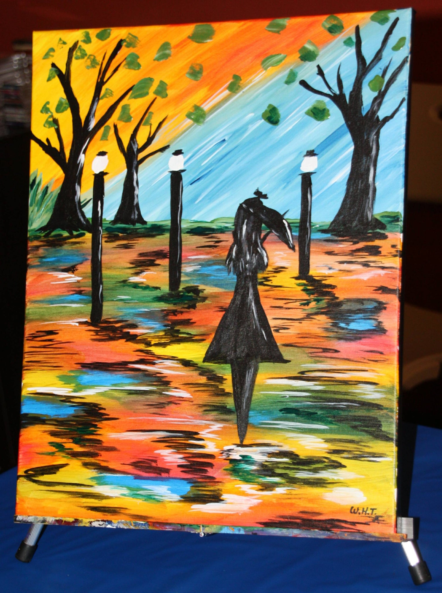 """Autumn Nights""    7:00 pm Friday July 26th, 2019 Sip & Paint BYOB"
