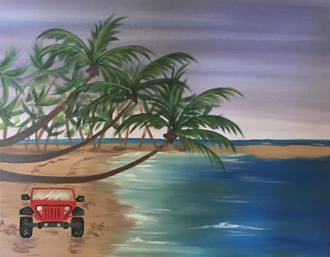 """Jeep on the Beach"" - Thursday, June 14, 2018"