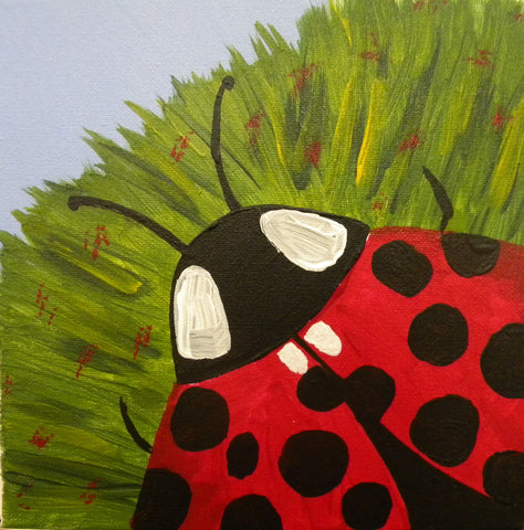 Painting for Everyone - Ladybug    1:30 pm Saturday, January 20, 2018