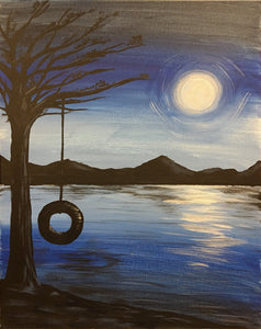 """Tire Swing"" 7:00 pm Saturday, May 26, 2018"