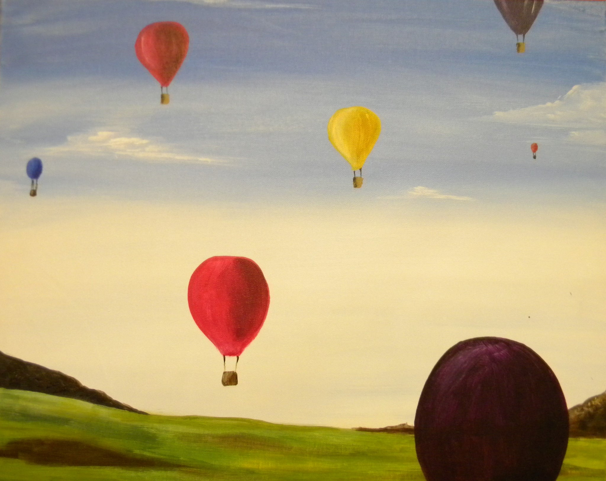 """Air Balloons"" 7:00 pm Saturday June 8th, 2019"