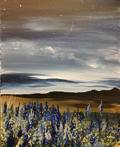 "Private Party ""West Texas Bluebonnets""    7:00 pm Saturday, August 11, 2018"