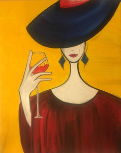 """Woman & Wine""   7:00 pm Friday, February 2, 2018"