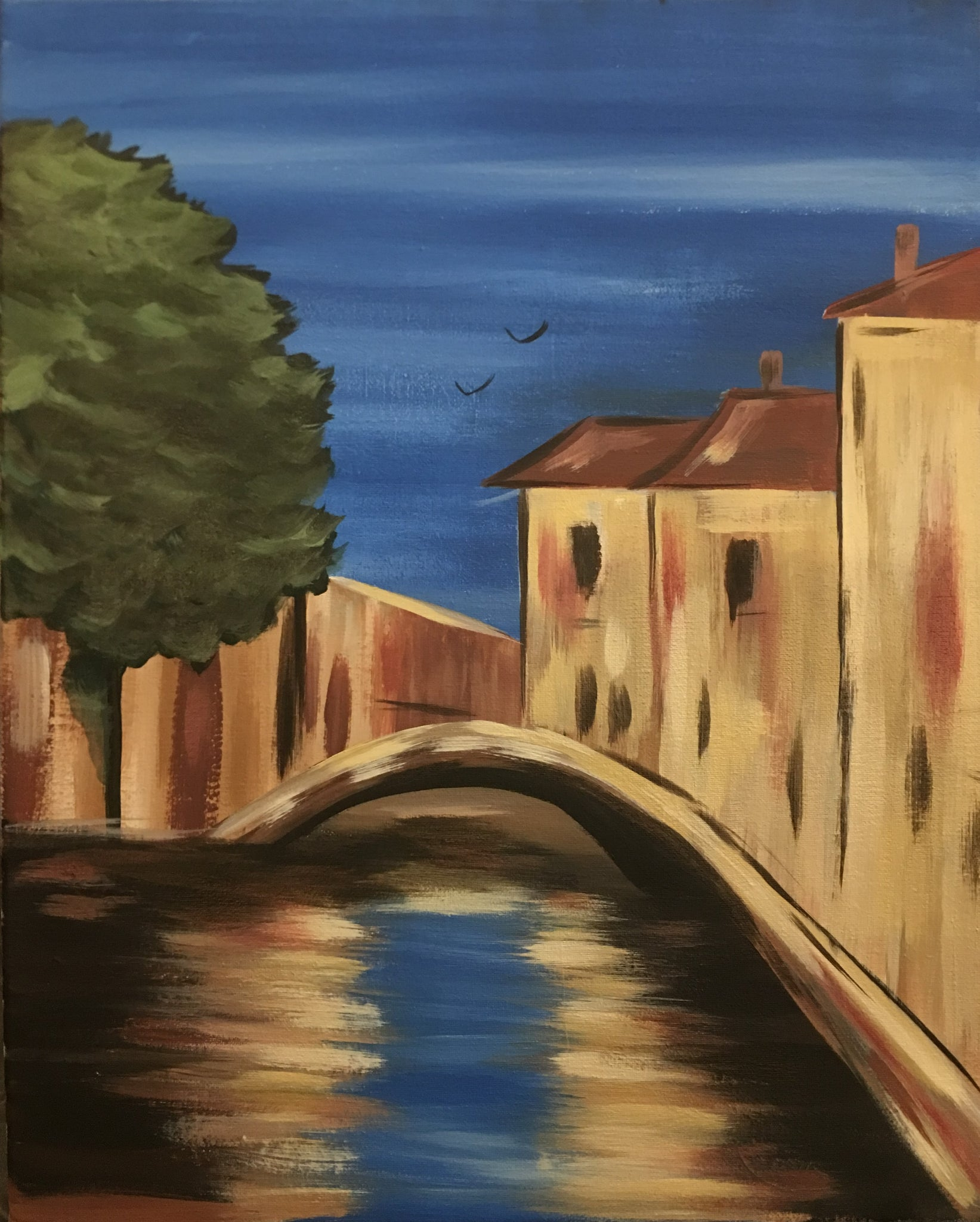 """Venice Canal"" 7:00 pm Thursday, July 19, 2018"