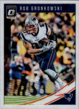2018 Donruss Optic New England Patriots Team Set