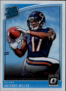 2018 Donruss Optic Chicago Bears Team Set