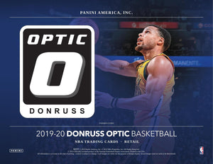 2019-20 Panini Optic Basketball Cello Pack