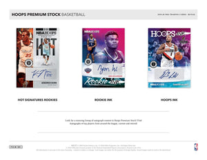 2019-20 Panini Hoops Premium Stock Basketball Blaster Pack